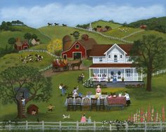 The Family Picnic ~ Mary Singleton