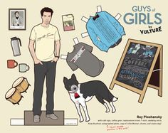 Ray paper doll via @New York Magazine