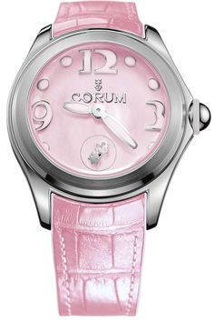 @corumwatches Bubble Mother of Pearl Ladies Pink #add-content #basel-16…