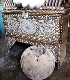 Syrian Mother-of-Pearl, Inlay Trunk/Chest