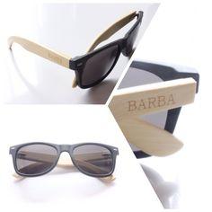 Gafas Negras BARBA   Un diseño innovador con mucha imaginación y utilización de materiales de nuestra naturaleza .  Www.ingeniousmind.co