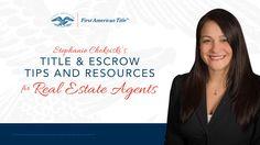 Stephanie Chokoiski   Homeownership Website   First American Title - Van...
