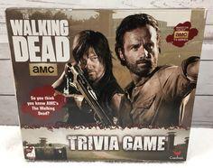 The Walking Dead AMC Trivia Game Cardinal TV Series 100% Complete #Cardinal