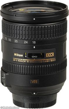 """Nikon 18-200mm VR  The 18-200mm VR is the freedom lens. It is the lens which let me get rid of the old fashioned """"camera bag"""" photographers used to have to carry.  The 18-200mm VR replaces all the lenses we used to haul around. The only thing it doesn't do is replace an ultra-wide lens like the 12-24mm DX, or allow us to shoot sports in dim light like the 70-200mm VR. If you need anything longer, you'll get better photos by getting closer with the 18-200 VR than you will by using a longer…"""