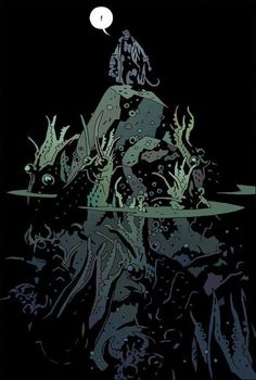 Image result for mike mignola swamp thing
