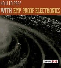 Prepping with EMP proof electronics