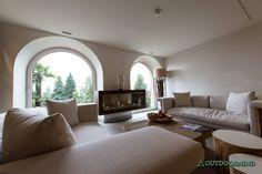 Loungebereich im Kurhaus Cademario Spa