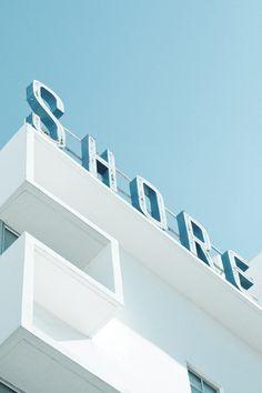 Art Deco Miami Beach by Adam Sherbell, via Behance