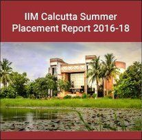 IIM+Calcutta+Summer+Placement+Report+2016-18:+Consulting+and+Finance+highest+recruiting+domains