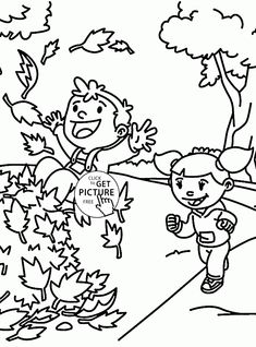 fall fun coloring pages for kids fall leaves printables free wuppsycom - Autumn Coloring Pages Toddlers