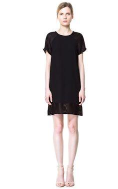 COMBINATION MESH DRESS - Woman - New this week - ZARA United States