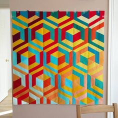 Quilt top by Austin Parker | manwhoquilts