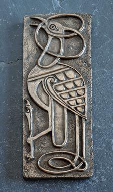 Wild Goose Studio Bronze Wall Plaque - Book of Kells Bird  £45.50 Inc VAT