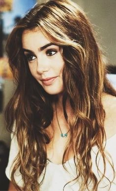 Lily Collins is perfection