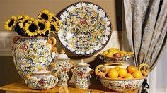 GIGLIO Majolica Collection | Artistica Italian Ceramics