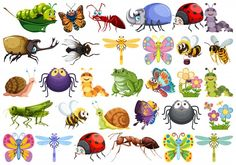 Find Set Insect Character Illustration stock images in HD and millions of other royalty-free stock photos, illustrations and vectors in the Shutterstock collection. Watercolor Leaves, Watercolor Background, Floral Watercolor, Vector Background, Cherry Blossom Background, Pink And White Background, Leaf Illustration, Character Illustration, Free Characters