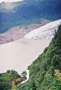 Nugget Falls & Mendenhall Glacier, Juneau, Alaska