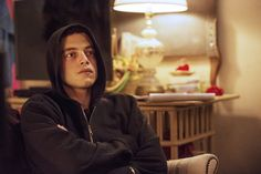 Rami Malek as Elliot in Mr. Robot. #MrRobot
