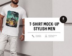 """Check out new work on my @Behance portfolio: """"T-Shirt Mock-Up Stylish Men"""" http://be.net/gallery/58347619/T-Shirt-Mock-Up-Stylish-Men"""