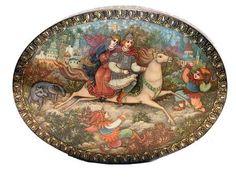 Imagine similară Lacquer Paint, Firebird, Faeries, Decorative Plates, Princess, Google, Painting, Home Decor, Art