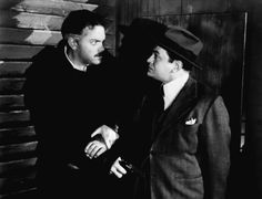 THE STRANGER RKO, 1946. Directed by Orson Welles. Camera: Russell Metty. With Edward G. Robinson, Loretta Young, Orson Welles, Philip Merivale, Richard Long.