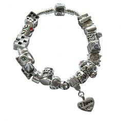 91a941eb8 Pandora DIY Bracelet Silver True Love Complete Description Pandora Charms  Clearance, Pandora Outlet, Cheap