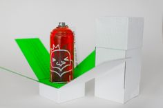 convite artsy com latinha grafitada personalizada de brinde!
