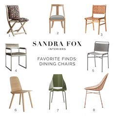 SFI Favorite Finds - Dining Chairs