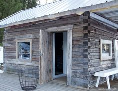 Find more info at the website simply press the tab for more options -- clearlight sauna Swedish Sauna, Finnish Sauna, Clearlight Sauna, Outdoor Sauna, Outdoor Decor, Tiny Log Cabins, Arch Interior, Spa Rooms, Lean To