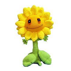 Crochet pattern Sunflower – Sabrina's Crochet