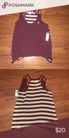 Large Texas A M tank top Texas A M tank with A M patch on front. Maroon and  white paxton Tops Tank Tops 1d083ac44