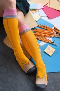 pencil socks, fok yesssss