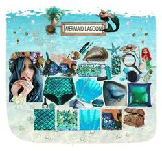 """Mermaid Life"" by melaccamarina on Polyvore featuring moda, Sephora Collection, Casetify, Poncho & Goldstein, Humble Chic, Manic Panic, Currey & Company, Skinnydip, Jaded London e Deborah Lippmann"