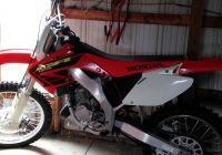 Motorcycle Bikes For Sale New 2002 Honda Cr125 2 Stroke Dirt Bike In Okeleys Garage Sale Di 2020
