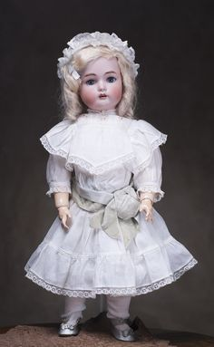 Rare and beautiful antique dolls and genuine antique doll clothes at. Beautiful All-Original German Bisque Doll