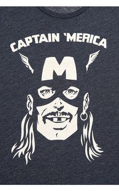 Captain 'Merica Tee