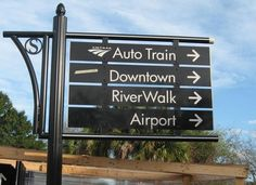 City Spotlight: Signs, signs, city Wayfinding signs