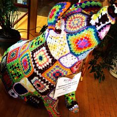 Crochet Pig @ Coffee Emporium - Downtown Cincinnati