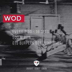 WOD 010917 #CrossFit #Voiron #CrossFitVoiron #Wod #Training #OriginalAthlete #DuSportMaisPasQue #Training #SurvivalKit #TimeIsMyOwn #becrossfit #sportunited #challengeyourself