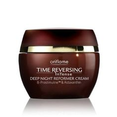 Time Reversing InTense Deep Night Reformer b-Prostimuline & Astaxanthin Cream , 50 ml/ +55 years. Imported from Europe/ Not available in USA by Oriflame. $106.75. New Time Reversing InTense Deep Night Reformer b-Prostimuline & Astaxanthin Cream , 50 ml/ +55years. Imported from Europe/ Not available in USA/ Not available in USA  A unique pro-strengthening formula which combines patented ß-Prostimuline Complex and astaxanthin, a super-powerful, natural antioxidant. With active ...