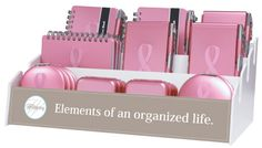 Breast Cancer Awareness merchandise for fundraisers at Gem Craft Boutique