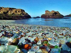 Glass Beach, Fort Bragg – California