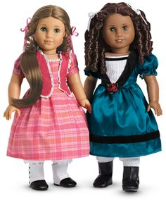 Cecile Doll and Marie-Grace Doll | American Girl Dolls From New Orleans  P.S Marie grace is my favorite doll and I have her!  Repin if u have either Marie grace or Cecile!