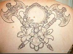 Body Art Tattoos, I Tattoo, Cool Tattoos, Tatoos, Orisha, Future Tattoos, Tatting, Tattoo Designs, Religion