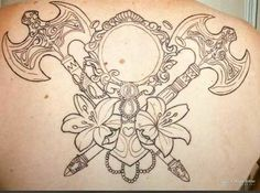 Oxum ♥️ Xangô Body Art Tattoos, Cool Tattoos, Tatoos, Orisha, Future Tattoos, Tattoo Designs, Sketches, Pictures, Color Sheets