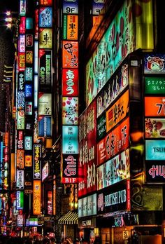 Colors of Tokyo. This is Shinjuku, If Japan was New York, Shinjuku would be Manhattan. It's a bustling district of Tokyo filled with karaoke shops, cafes, and shops and has the most neon signage in all of Tokyo, and maybe even Japan itself.
