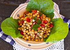 Chickpea & Cherry Tomato Salad by Deb @ Italian Food Forever