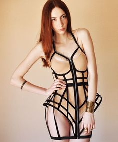 Cage Dress by Chromat