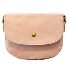 Sweet Candy Color and PU Leather Design Women's Crossbody Bag