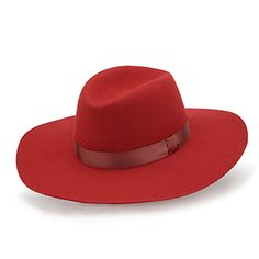 Feliz hat Capline in red 100% woolfelt. Made in Europe